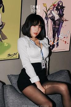 회사원 코스프레 feat 강인경