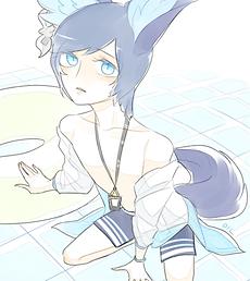 새 수영복